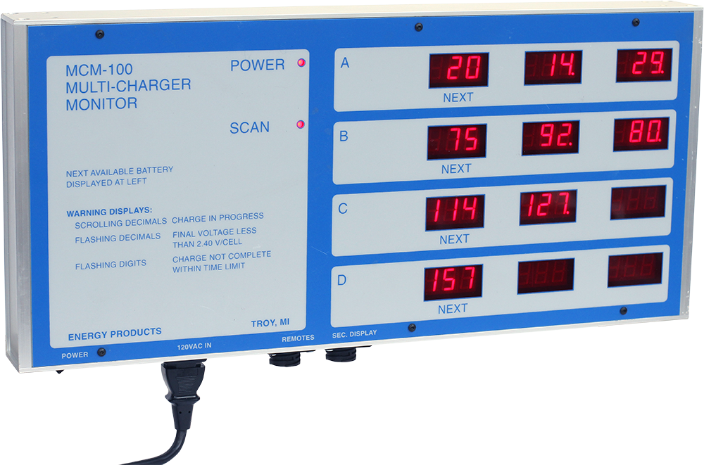 MCM-100 Multi Charger Monitor