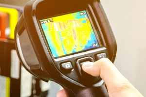 Thermal Imaging for UPS Backup Power Systems